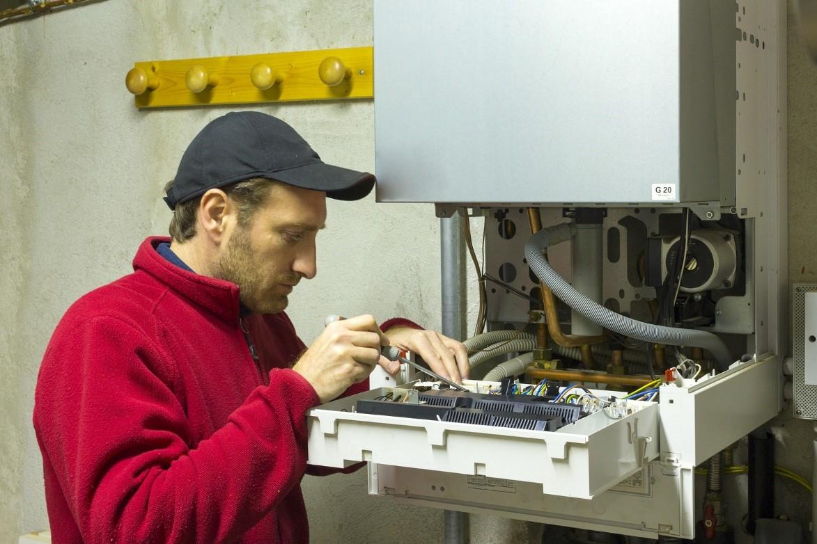 heating boiler replacement